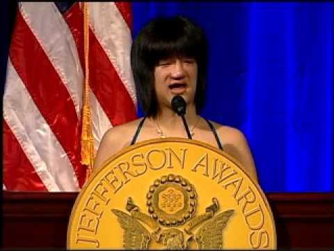 Megan Johnson - 2011 National Jefferson Award Winner