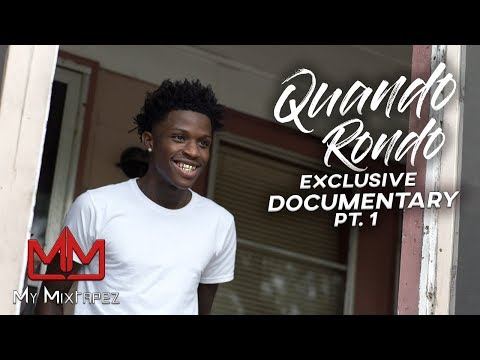Quando Rondo - When I rap I try to say what I been through, I dont care about these cameras [Part 1]