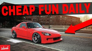 5 Fun DAILY DRIVERS That Are SURPRISINGLY CHEAP
