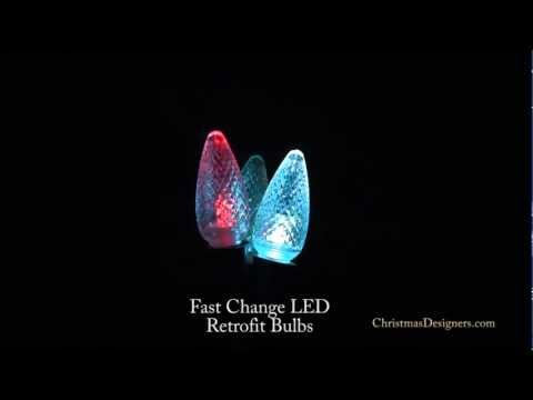 Fast Change LED Retrofit Bulbs