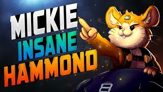 Dallas Fuel Mickie - Insane Hammond! [ OVERWATCH SEASON 14 TOP 500 ]