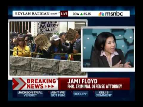 Jami Floyd on MSNBC November 7th 2011