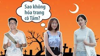 Hóa trang K.I.N.H D.Ị trong ngày Halloween nên hay không nên