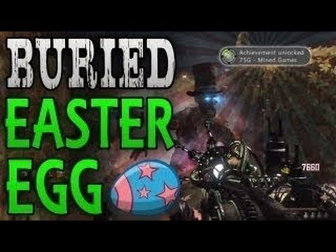 Black Ops 2 Zombies Buried Maxis Easter Egg Ending TUTORIAL - BO2 Mined Games Achievement Guide - Smashpipe Games