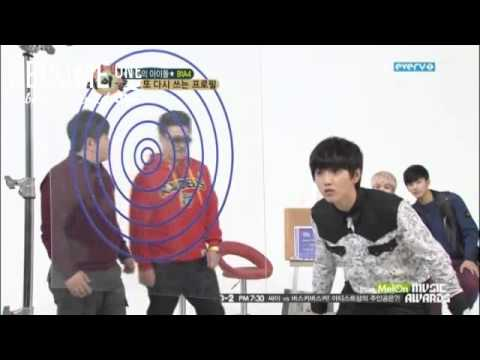 [B1SS] 121212 Weekly Idol E73 with B1A4