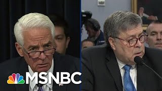 Democrat Blasts Trump AG Barr Testimony: Shocking And Disturbing | The Beat With Ari Melber | MSNBC
