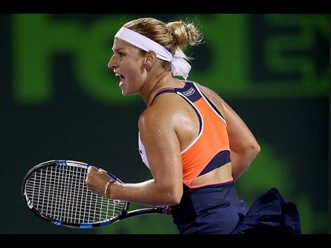 Kirsten Flipkens vs Dominika Cibulkova