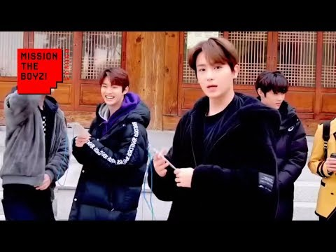 [MISSION THE BOYZ] Learn Korean Manners SP (EN/JP/ES)