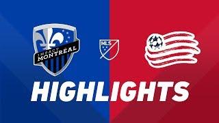 Montreal Impact vs. New England Revolution   HIGHLIGHTS - May 18, 2019