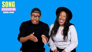 Keisha Renee sings Whitney Houston, Adele, & Jazmine Sullivan | SONG ASSOCIATION