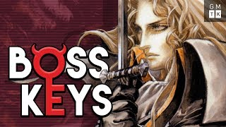 The World Design of Castlevania: Symphony of the Night | Boss Keys