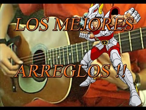 Saint Seiya Songs Canciones de Saint seiya en guitarra Cover Tabs Tutorial