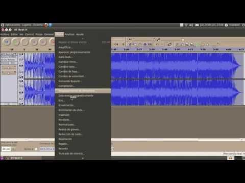 Cómo hacer un Karaoke o Acapella de una canción con Audacity