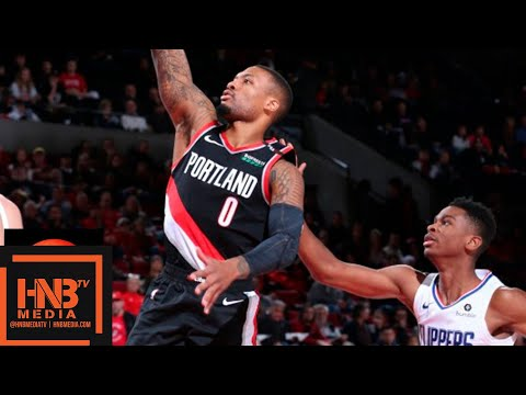 LA Clippers vs Portland Trail Blazers Full Game Highlights | 11.25.2018, NBA Season
