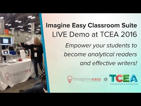 Imagine Easy Classroom Suite Demo at TCEA 2016