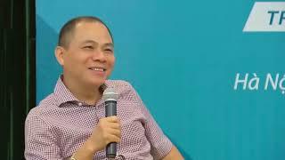 Chủ tịch HĐQT Tập đoàn Vingroup Phạm Nhật Vượng và buổi chia sẻ cùng Tập đoàn Viettel