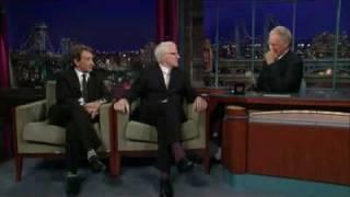 David Letterman   Steve Martin & Martin Short
