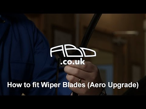 How to fit Wiper Blades (Aero Upgrade)
