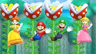 Mario Party 9 Gameplay - Step it Up - Yoshi, Luigi, Birdo, Wario