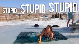 Polar Plunge! DON'T TRY THIS AT HOME!!!