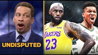 UNDISPUTED   Chris Broussard Calls LeBron is the Best player in the league, Lakers is champions