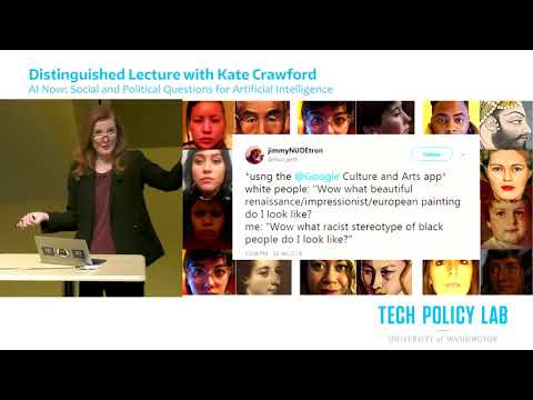 Social and Political Questions for Artificial Intelligence | Kate Crawford