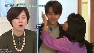 [ENG SUB] 171205 둥지탈출 Samuel and mom cut