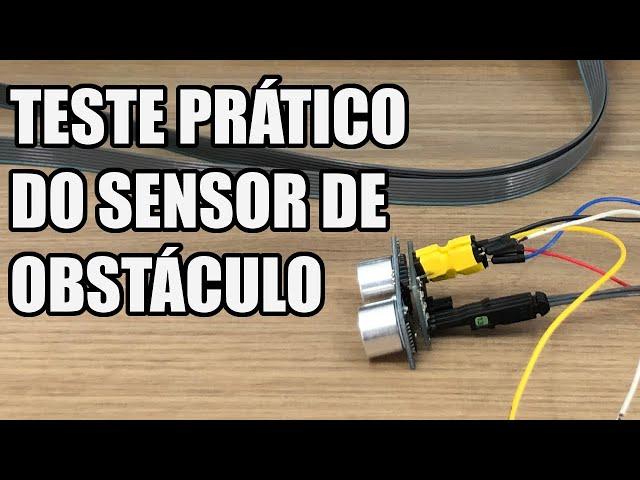 TESTE PRÁTICO DO SENSOR MELHORADO | Usina Robots US-3 #030