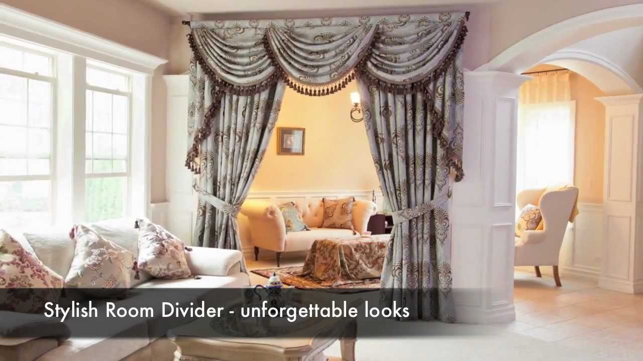 Elegant Designer Curtain Sets Swags And Tails Valance By