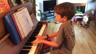 Zachary's piano pieces spring 2016