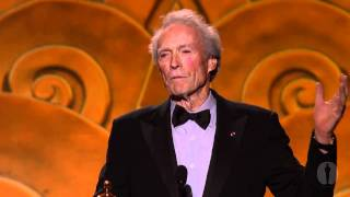 2010 Governors Awards -- Clint Eastwood on Eli Wallach