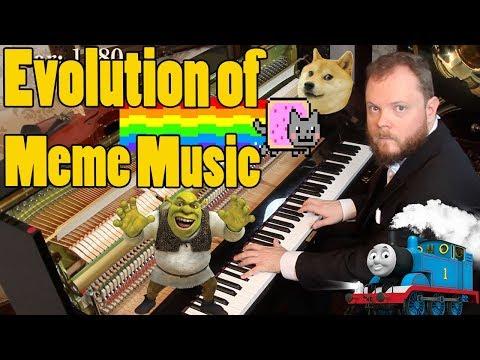 Evolution of Meme Music (1500 AD - 2018 )