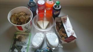 Prison Canteen, Commissary, Store, Dominoes Pizza, Burger King, KFC Chicken