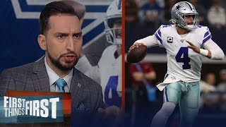 Cowboys won't be Super Bowl contenders in 2020, talks Dak contract — Nick   NFL   FIRST THINGS FIRST