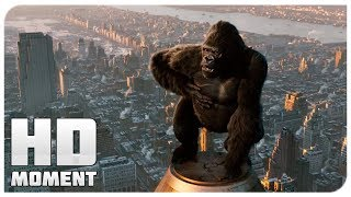 Kong vs. the planes - king Kong (2005) - Moment of the movie