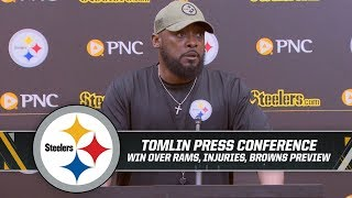 "Coach Tomlin: ""We ALL stayed in the fight"" 