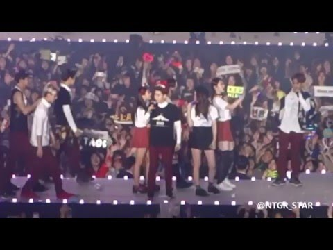 EXO and f(x) Krystal Compilation