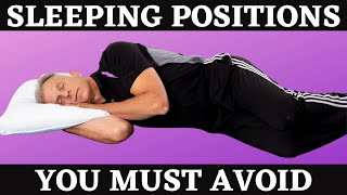 2 Sleeping Positions You Must Avoid.