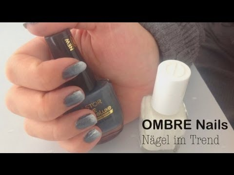 ombre nails n gel voll im trend youtube. Black Bedroom Furniture Sets. Home Design Ideas