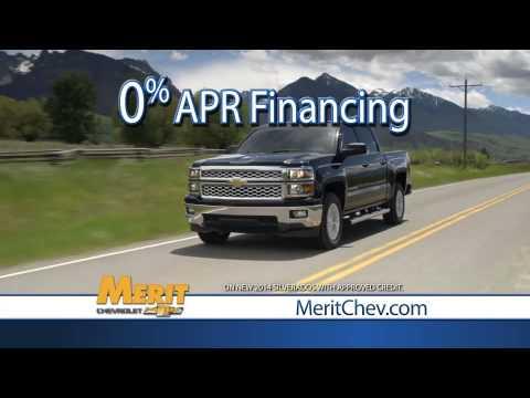 Merit Chevrolet - August Offers