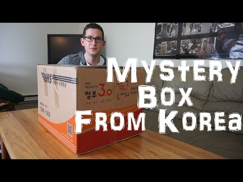 Mysterious Package from Korea [Unboxing]
