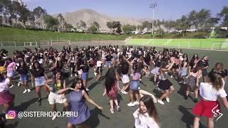 SISTERHOOD PERU MEGA VIDEO FALDITA   LESLIE SHAW Y MAU Y RICKY   #falditachallenge