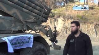 القدس العربي تتجول في مواقع حركة احرار الشام بجوار اللاذقية