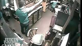 Cellar Door Death Trap - Man Falls Through Floor