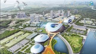 Khu TT Rạch Chiếc: Cận cảnh nơi đang xây SVĐ hơn 50.000 chỗ ngồi chuẩn bị cho Sea Games 31 ở Sài Gòn