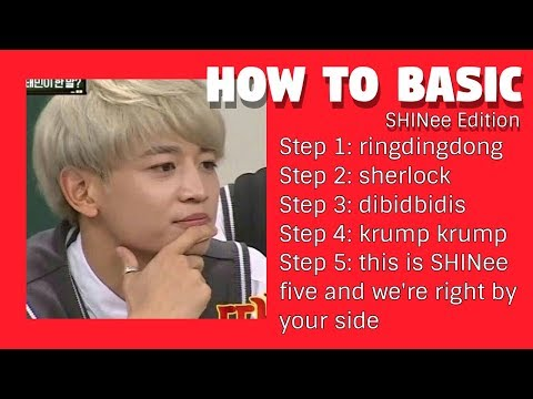 How to Basic - SHINee edition