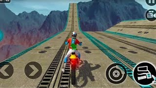 IMPOSSIBLE MOTOR BIKE TRACKS 3D #Dirt Motor Cycle Racer Game #Bike Games To Play #Games For Kids