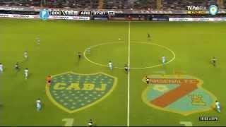 Boca 4 - 2 Arsenal // Torneo Final 2014 - Fecha 16