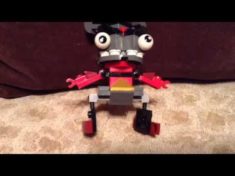 Mixels Flain And Teslo Lego Mixels:krader And Flain