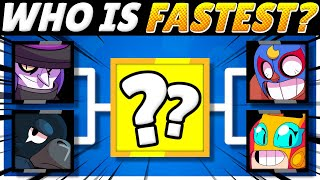 Brawl Stars OLYMPICS! | 34 Brawlers RACE for 1st! | Who is FASTEST?!